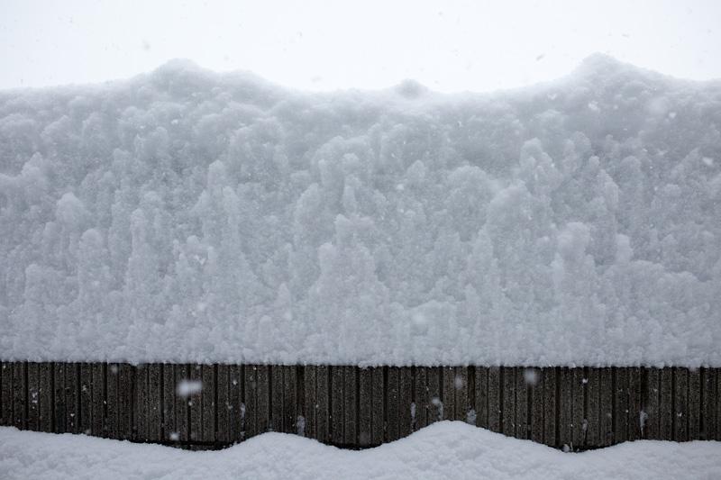 飯田で約80cmの積雪は観測史上最多